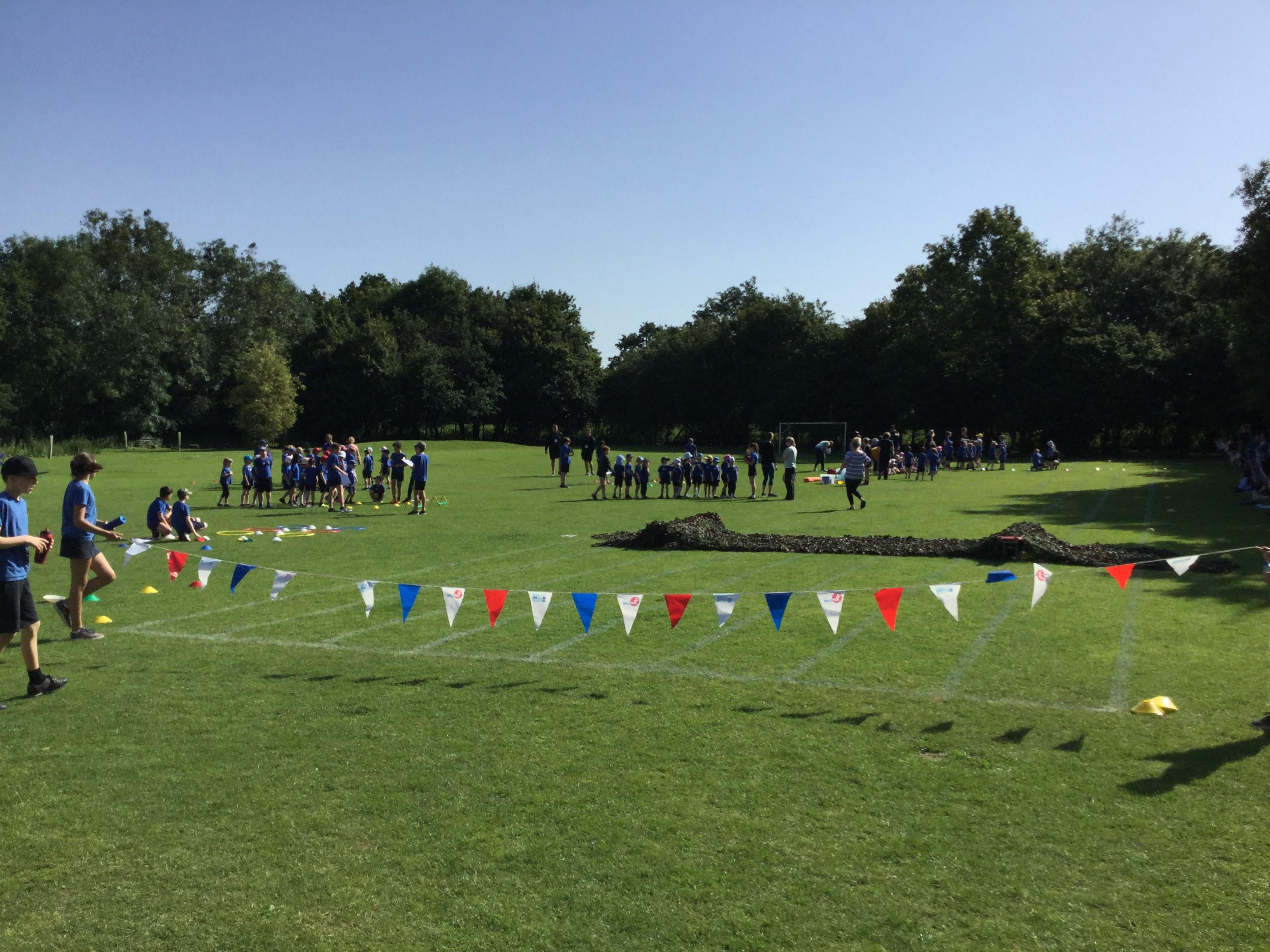 Fantastic Sunny Sports Day at Bathampton Primary School